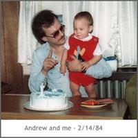 John + Andrew, 1984