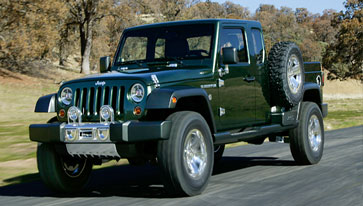 Jeep Gladiator concept truck
