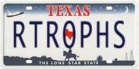 Retrophisch license plate